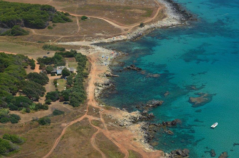 costa adriatica salentina vicino all'agriturismo di Uggiano la Chiesa (Lecce)
