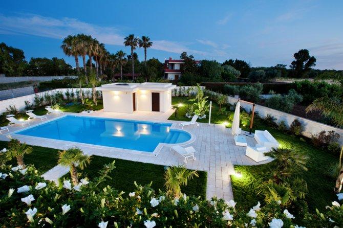 Piscina B&B Luxury Villetta Carra Gallipoli