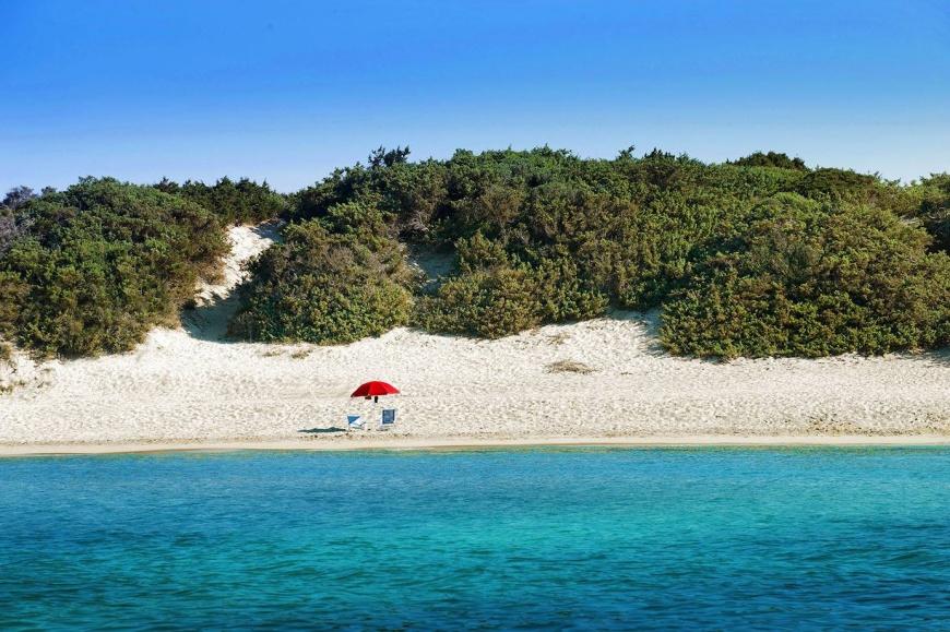 spiaggia del campeggio