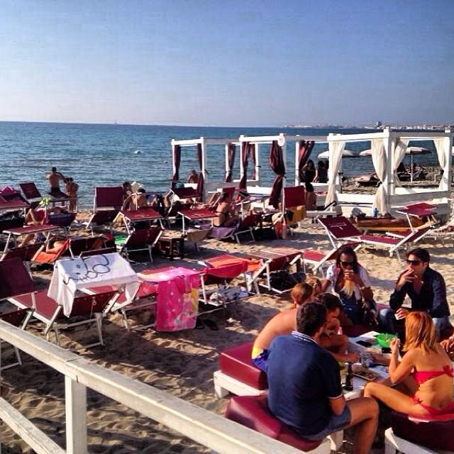 lidi balneari a Baia Verde convenzionati con Gallipoli on line.it
