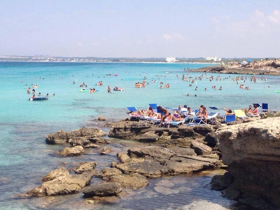 splendido mare di Gallipoli per trascorrere le vacanze a Baia Verde