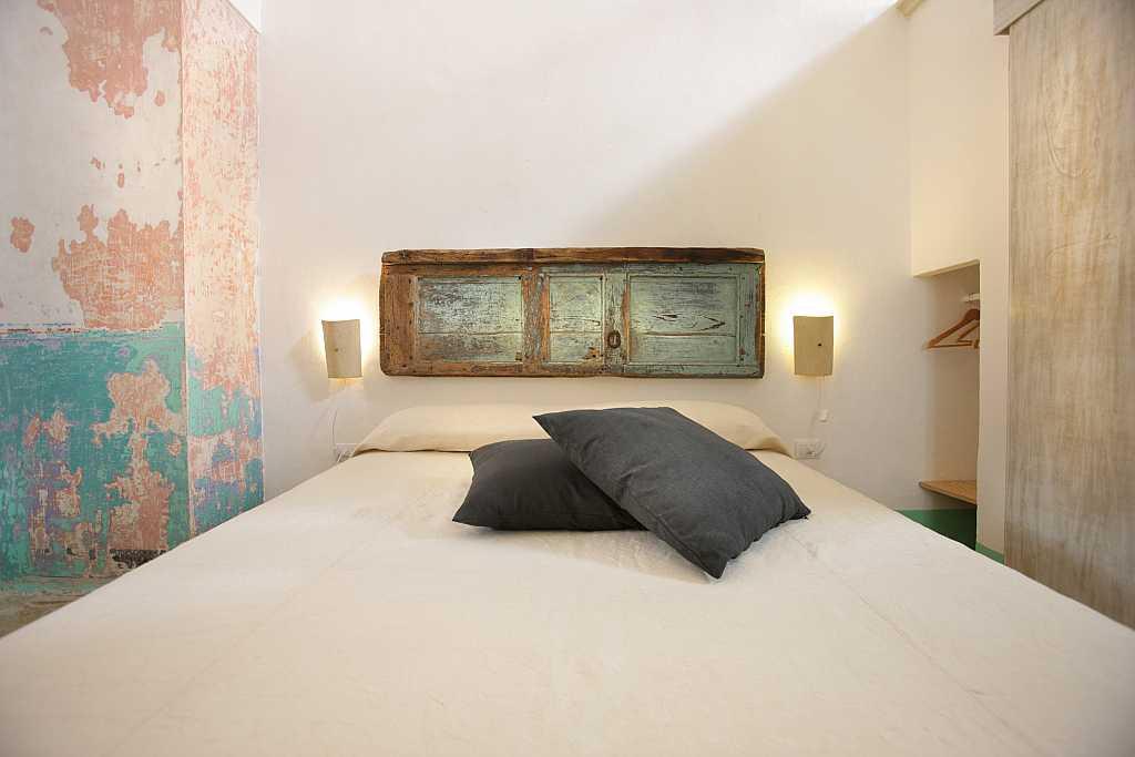 Particolare della camera da letto dimora storica il for Camera da letto del soffitto della cattedrale