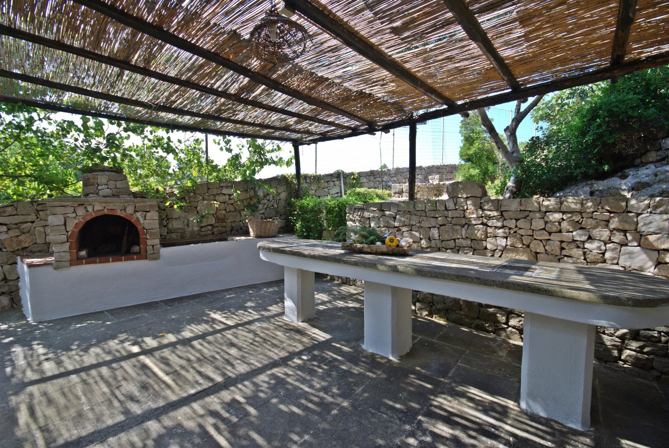 Barbecue e gazzebo Trullo Mediterraneo Leuca