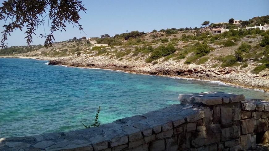 baia di San Gregorio (Leuca) in Puglia