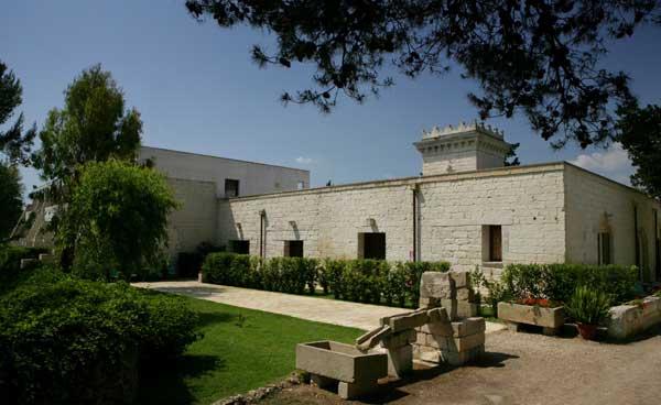 Esterno Masseria Bosco di Makyva Sant'Andrea, Lecce