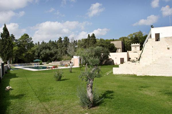 Il Giardino della Masseria Bosco di Makyva Sant'Andrea, Lecce