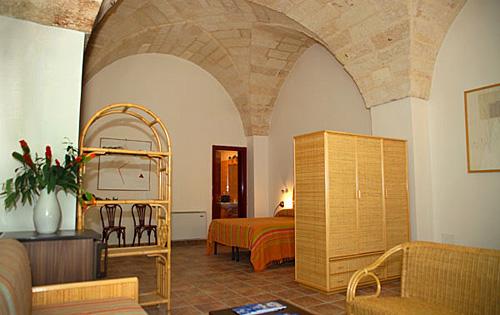Camera con volte masseria Bosco di Makyva Sant'Andrea, Lecce