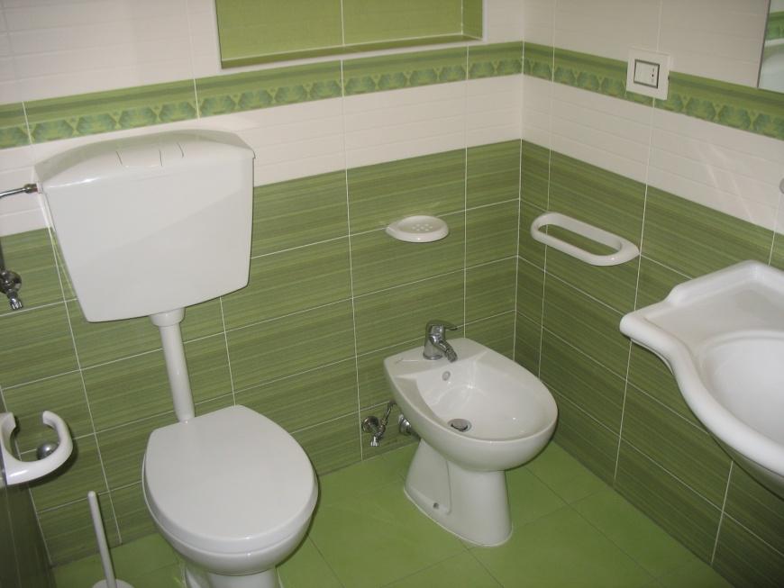 La camera 2, la più piccola, adatta a coppiette o a singole persone