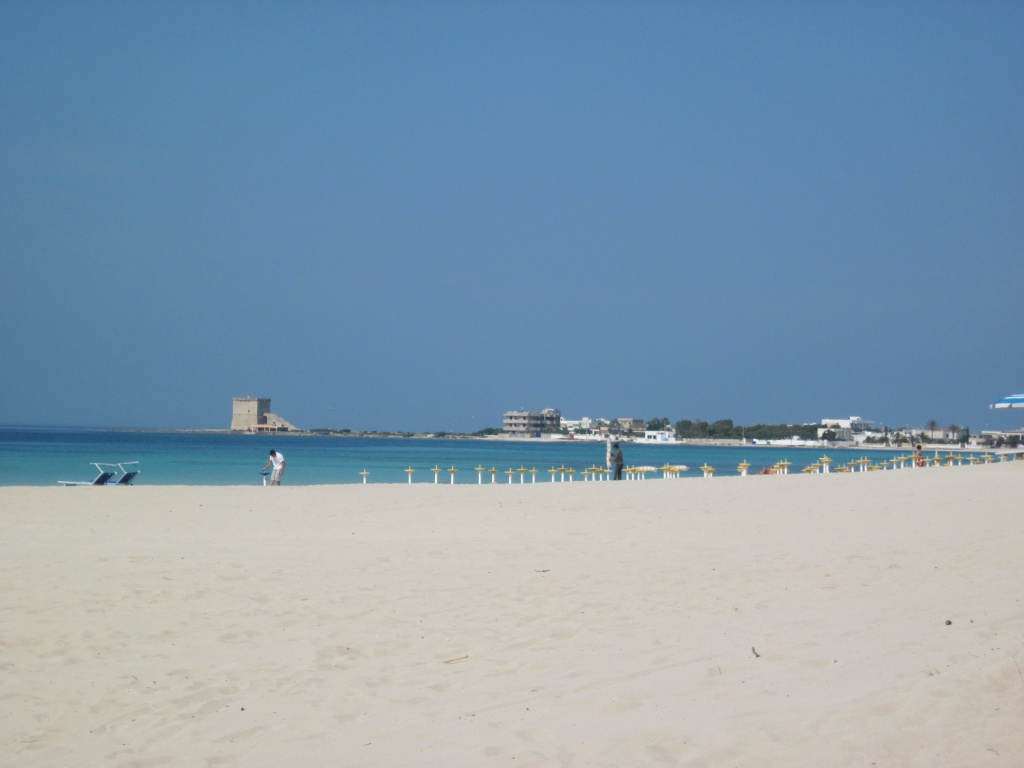 Panoramica Spiaggia Torre Lapillo