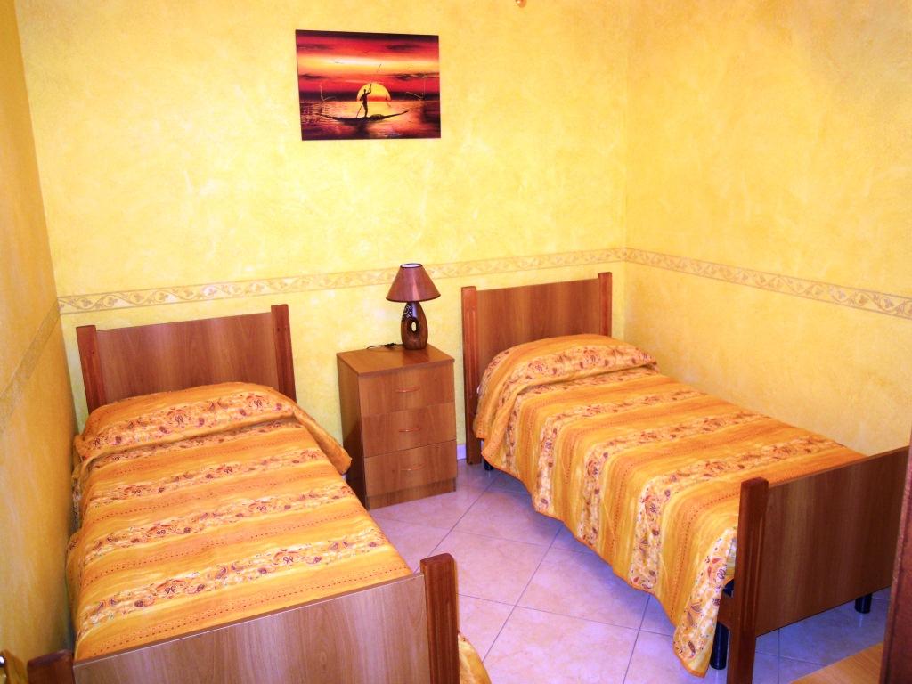 Camera doppia appartamento Marco Porto Cesareo