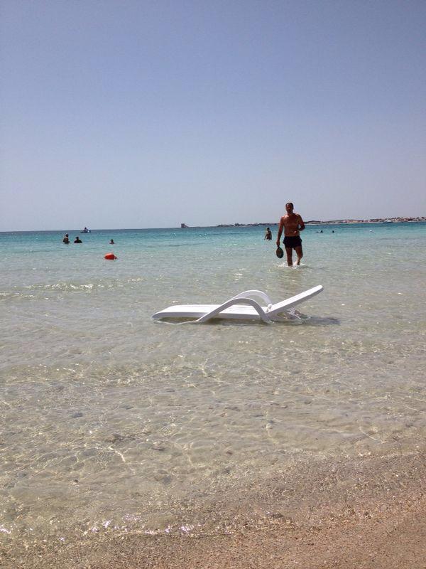 attività sportive e divertimento in spiaggia negli appartamenti di Porto Cesareo