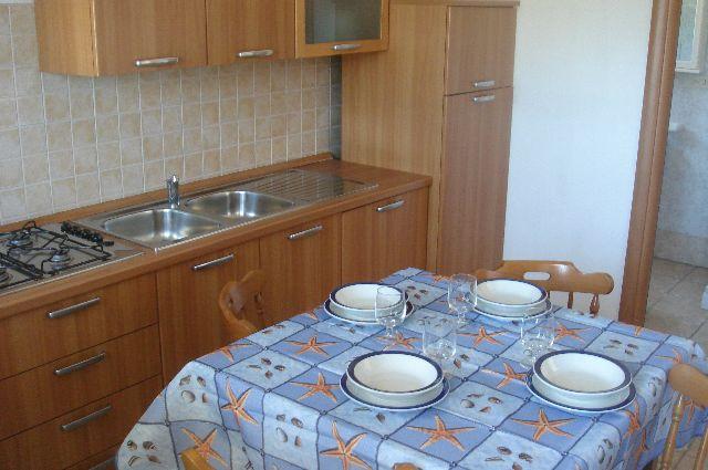 Cucina Residence La Pineta Otranto