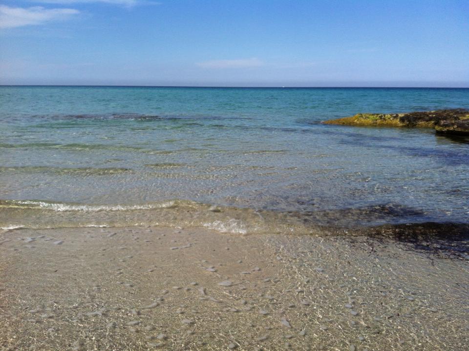 mare limpido di Frassanito (Otranto)
