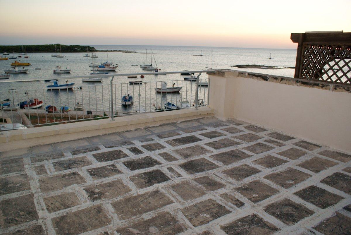 Terrazzo vista mare Residence Il Porticciolo Porto Cesareo