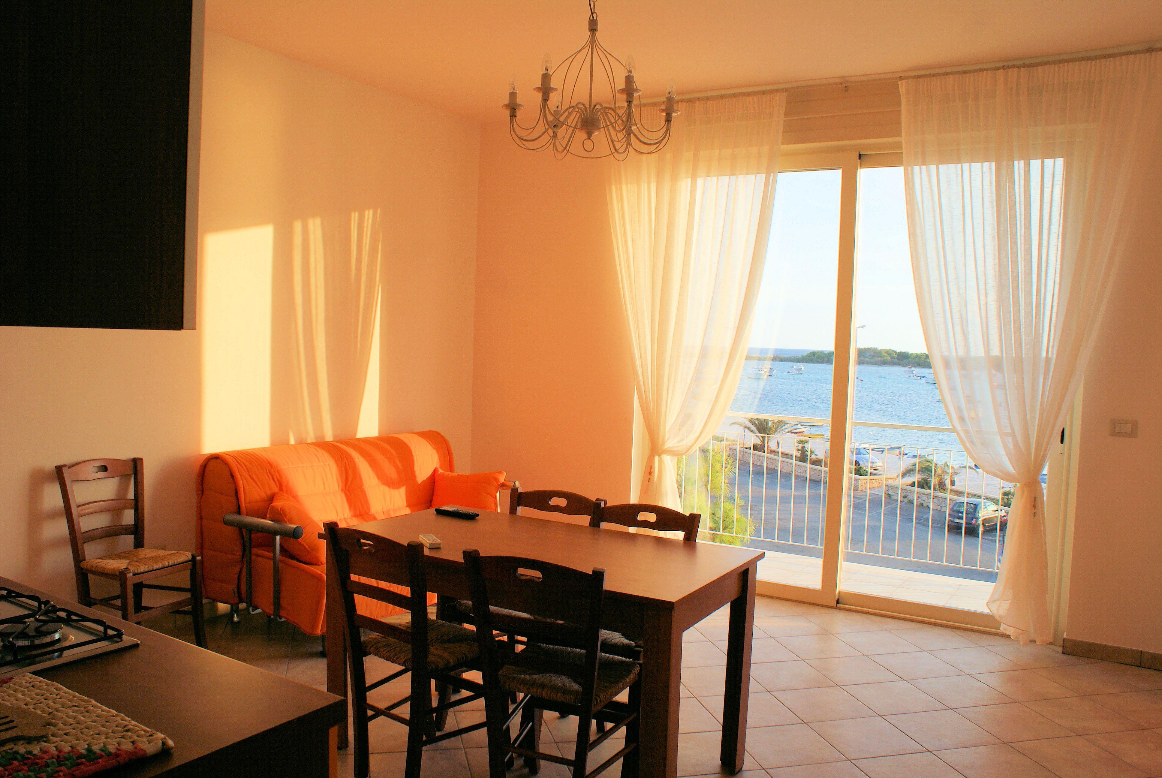Interni vista mare Residence Il Porticciolo Porto Cesareo