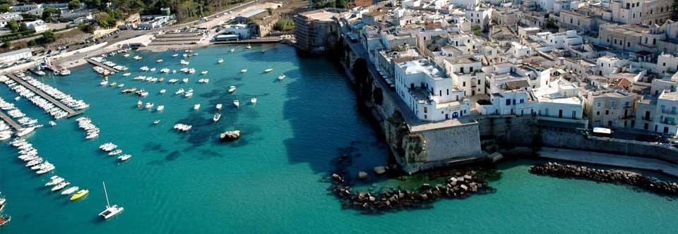 Vista del Porto di Otranto (Lecce)