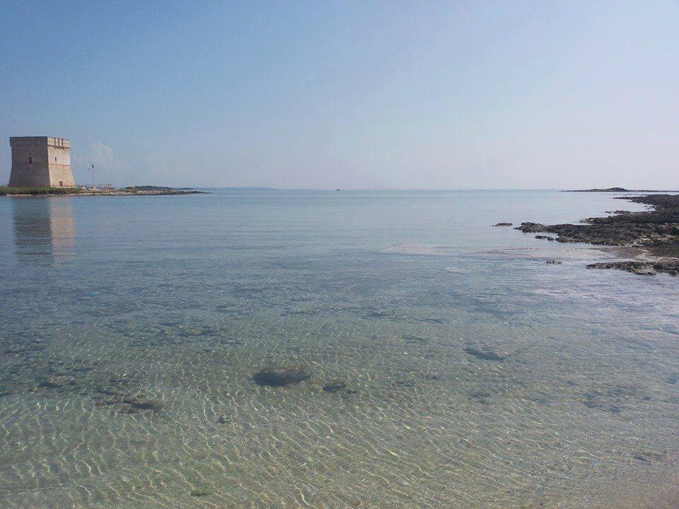 spiaggia di Torre Lapillo vicino alla villetta carmelina in affitto