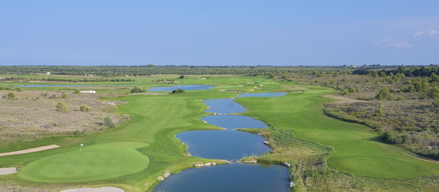 Campo da Golf di Hotel Acaya Golf Resort a Lecce nel Salento