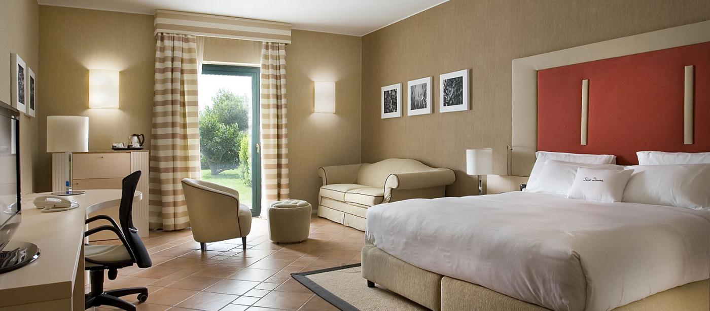 Camere di Hotel Acaya Golf Resort a Lecce
