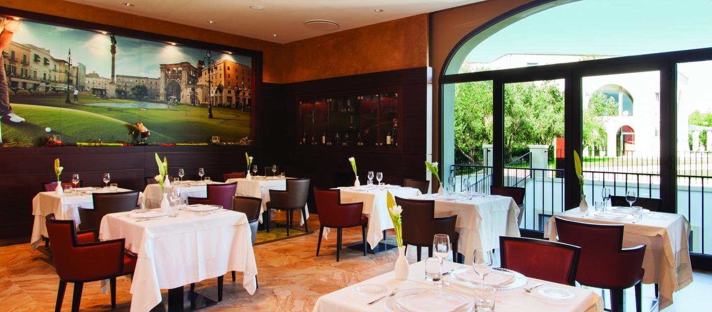 Ristorante di Hotel Acaya Golf Resort a Lecce