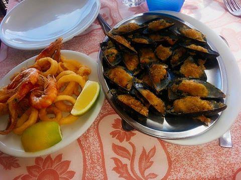 mangiare buoni piatti di pesce a Otranto