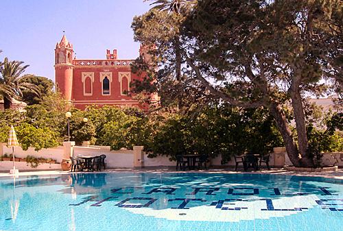 Piscina esclusiva in vacanza presso la Villa La Meridiana a Santa Maria di Leuca