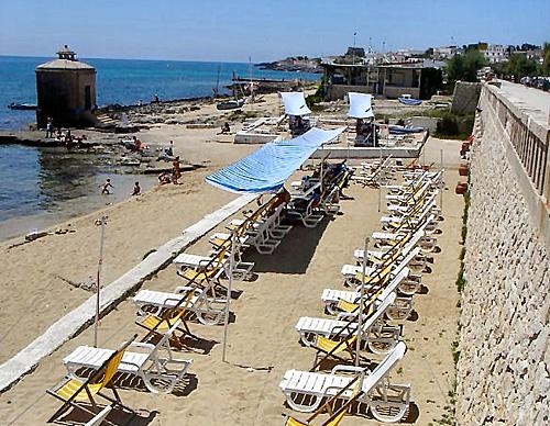 Spiaggia Villa La Meridiana Leuca, Lecce