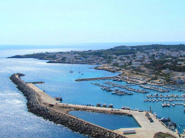 veduta del porto di Santa Maria di Leuca (Salento)