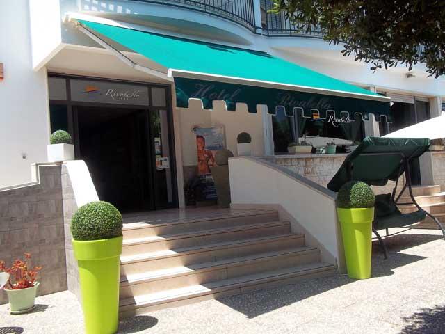 Ingresso Hotel Rivabella Gallipoli, Lecce