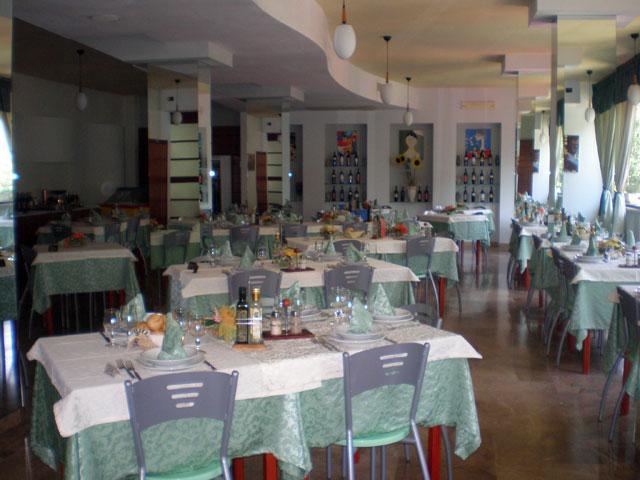 Sala ristorante Hotel Rivabella Gallipoli, Lecce