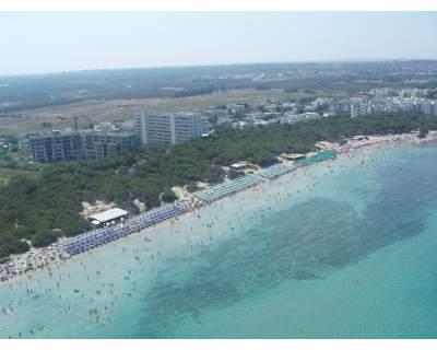 Panoramica spiaggia Hotel Rivabella Gallipoli, Lecce