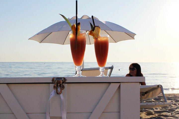 bevande fresche in spiaggia a Gallipoli