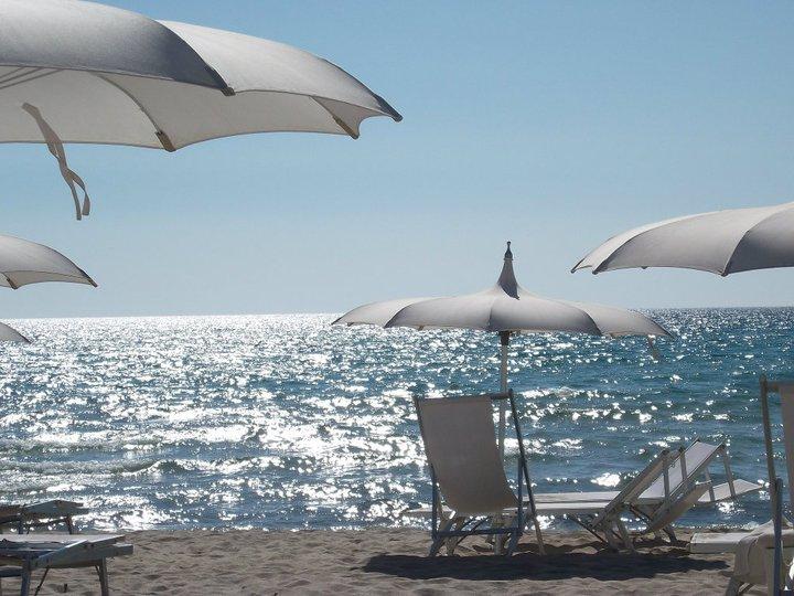 lido balneare sul mare di Grand Hotel Costa Brada a Gallipoli (Salento)