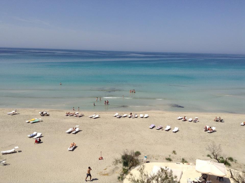 splendido mare di Gallipoli durante un soggiorno relax in Salento