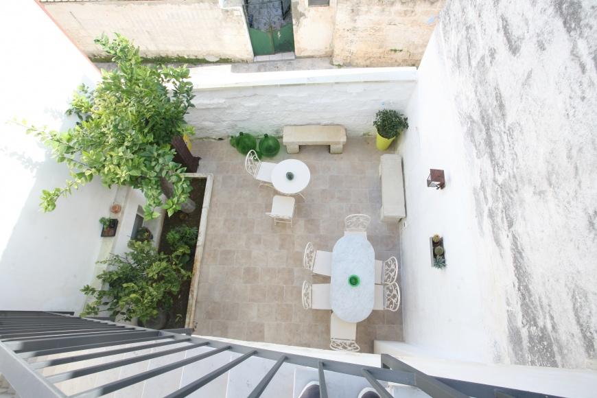 B b guest house tana del riccio a vaste poggiardo su - Giardino zen piccolo ...