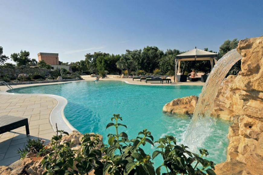 piscina cascata