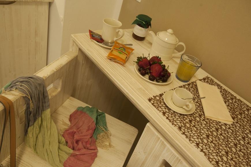 angolo colazione in Junior Suite