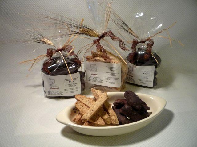 Esempio di prodotti biologici di Masseria Santa Lucia Alessano