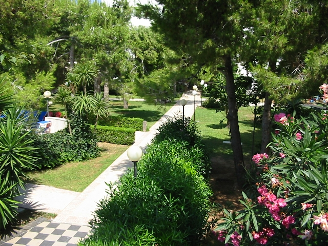Esterno verde Hotel Astor Village, Torre San Giovanni, Ugento, Lecce