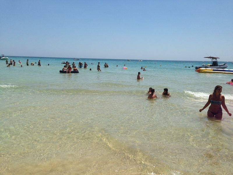 mare del villaggio victor village sulla costa di Ugento (Puglia)
