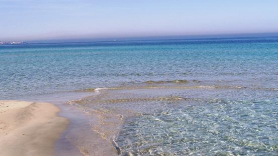 spiaggia di Padula Bianca a Gallipoli (Puglia)