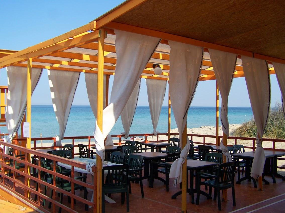 Lido e Bar per pranzare direttamente sulla spiaggia a Padula Bianca di Gallipoli in Puglia