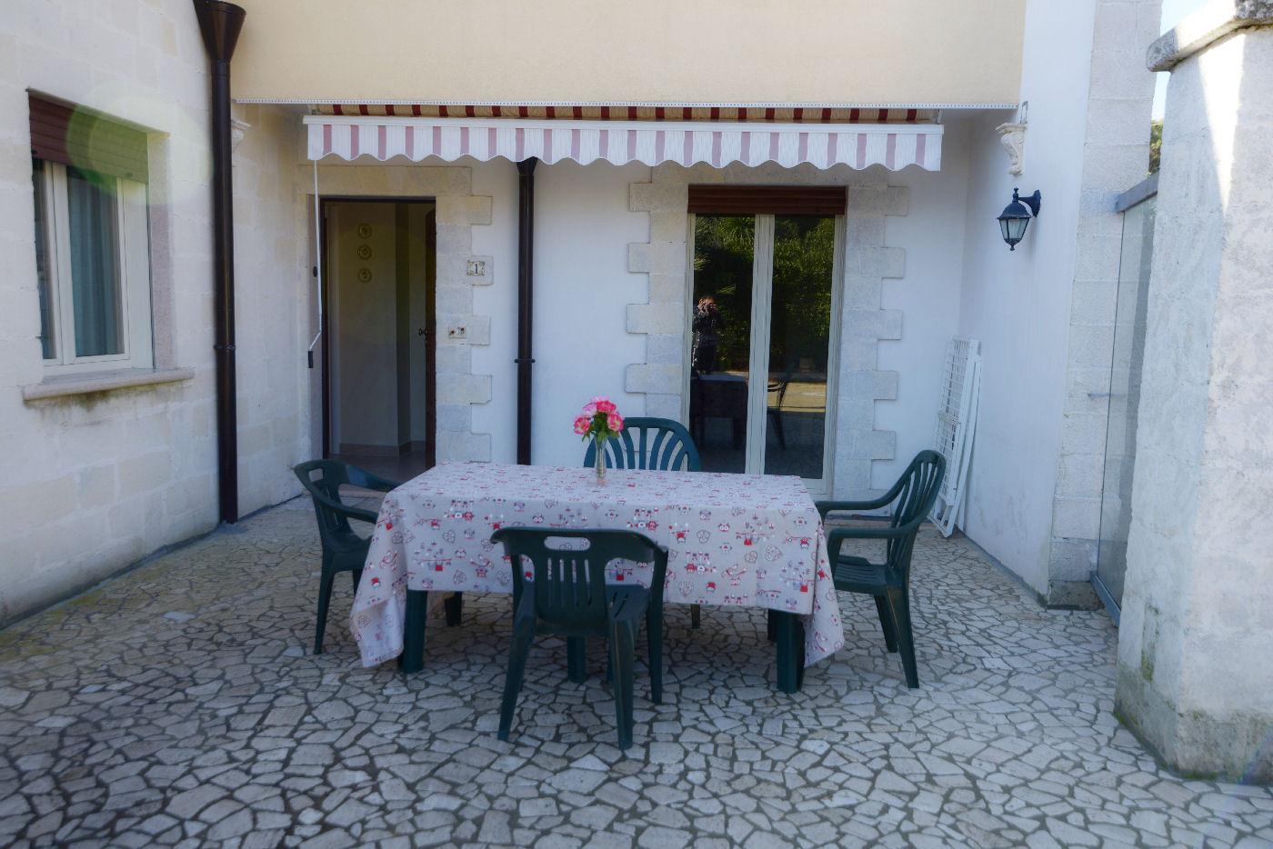 veranda esterna Pino residence Torre Lapillo