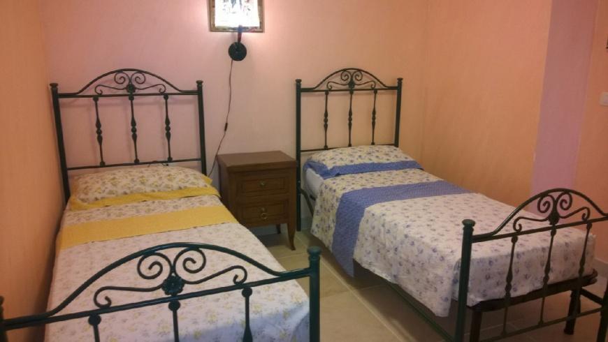 camera da letto doppia Pino residence Torre Lapillo