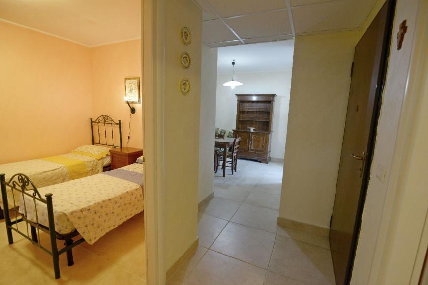 prospettiva appartamento Pino residence Torre Lapillo