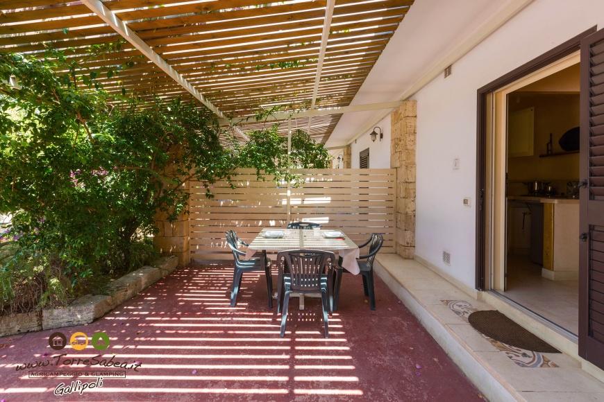 Bilocale veranda