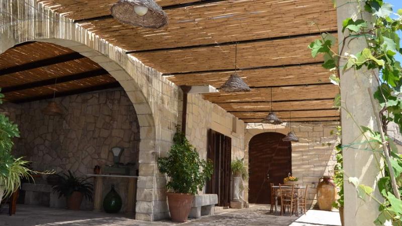 Ricevimento in giardino Masseria Appidè