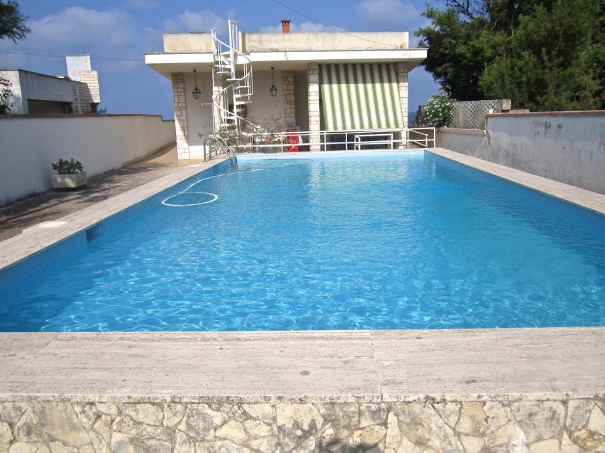 Villa Con Piscina A 10 Metri Dal Mare A Torre Suda Su