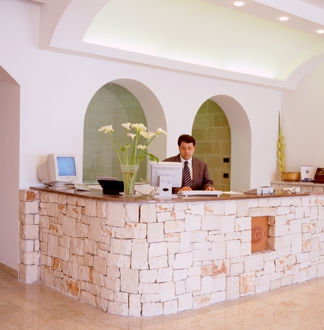 Reception Hotel Terminal Leuca, Lecce