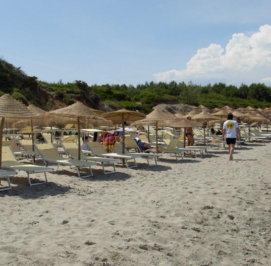 Spiaggia Villaggio Hotel Baia dei Turchi  Otranto, Lecce